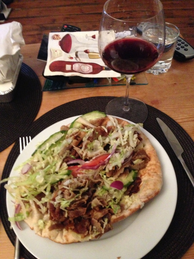 What wine do you match with a Doner Kebab??