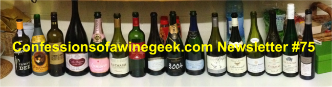 Wine Geek Newsletter #75