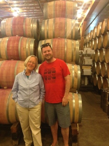 One of the my best wine moments ever - meeting Cathy Corison!