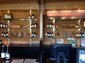 Ridge tasting room