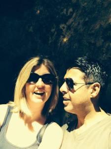 Haylo & Zar - my non-alcoholic consultants!