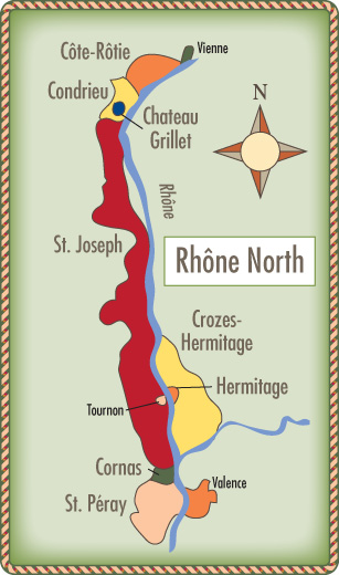 North-Rhone-map