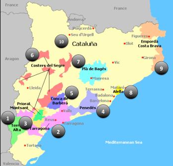 Catalonia Map