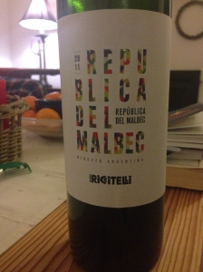 A Malbec I like! That must be worth a post of it's own!